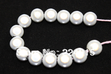 Freeshipping!200pcs/8mm White Aquamarine Acrylic Spacer Miracle / Perles Magiques Beads Fit Jewelry & Necklace Findings DIY