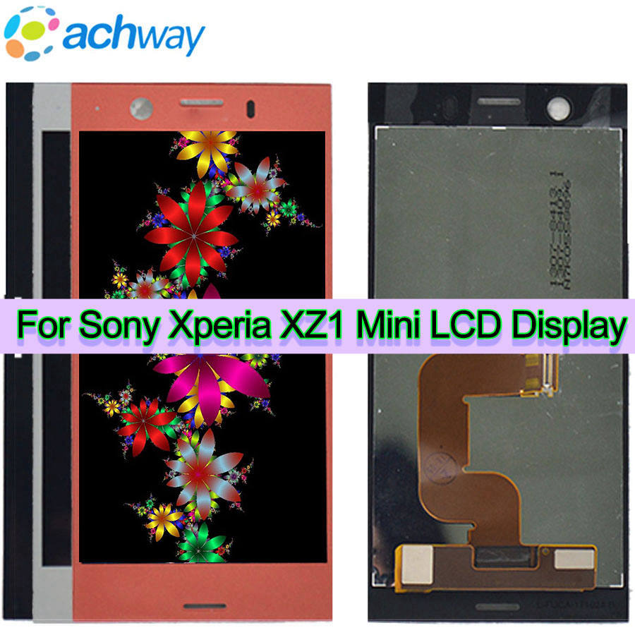 """4.6"""" Screen For Sony Xperia XZ1 Compact LCD Display Touch Screen Digitizer Assembly Replacement For Sony XZ1 Mini LCD Display(China)"""