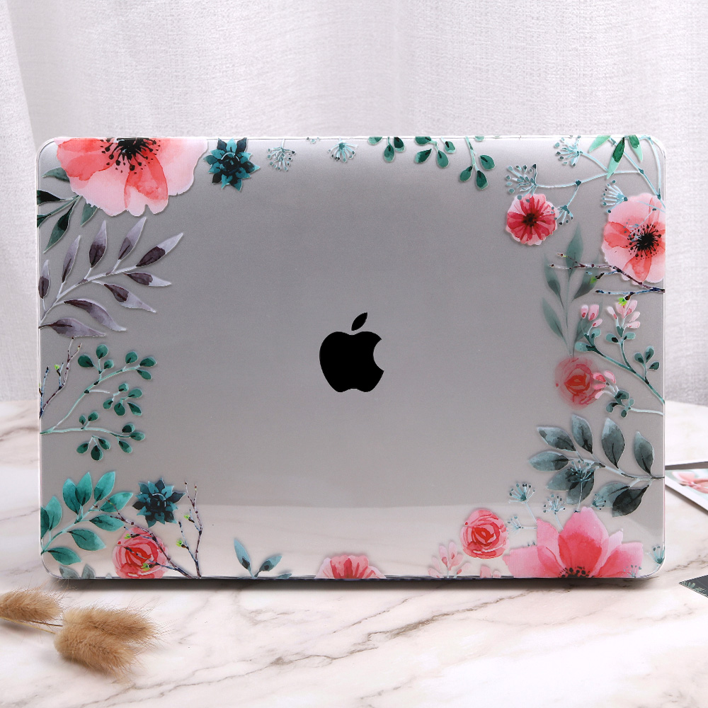 Floral Case for MacBook 157