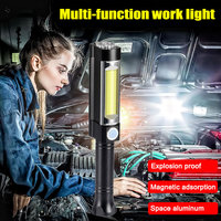 1 Pcs LED Flashlight Torch Emergency Portable For Outdoor Car Repairing Camping JA55