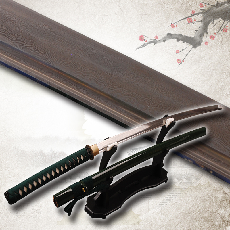 Delicate HOT Decoration Vintage Folded Steel Blade Samurai Sword Katana Practical Sharp font b Knife b