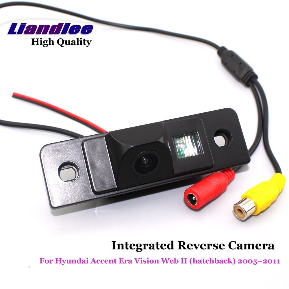 Liandlee For Hyundai Accent Era Vision Web II (hatchback) 2005~2011 Car Rear View Backup Parking Camera / Reverse Camera