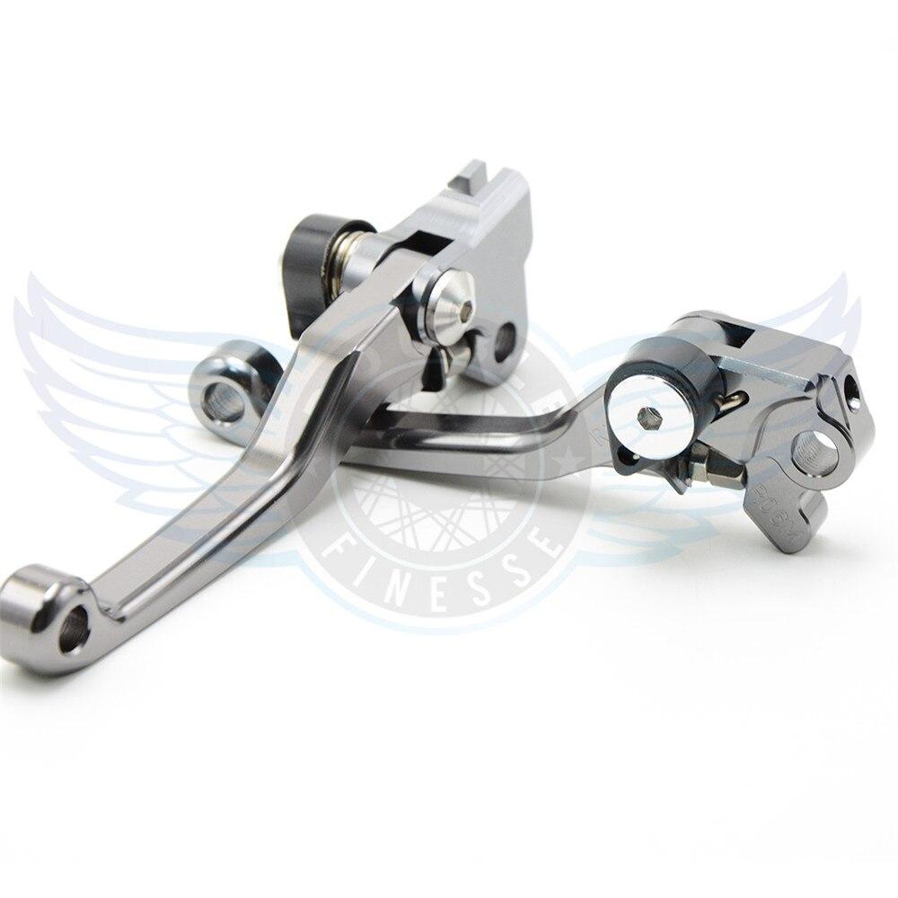 motorcycle titanium  increased torque of cnc pivot brake clutch levers For KTM 450XC / XC-W 2005 2006 2007 2008 2009 2010 2011 good quality titanium motorcycle accessories increased torque of cnc pivot brake clutch levers for ktm 450 smr 2007 2008 2009