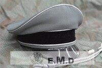 WW2 E.M.D German .Officer hat . Twill Wool (Orange).