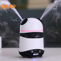 Little Panda Aroma Diffuser 150ml 24V LED Lamp Cute Animals Portable Mini Facial Mist Air Freshener