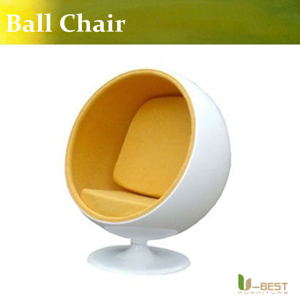 U-BEST Replica Eero aarnio ball chair replica Excellent quality lounge ball shaped chair u best high quality reproduction basculant chair lc1 chair famous classic replica furniture