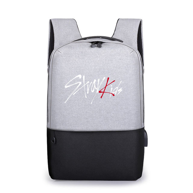 STRAY KIDS BACKPACK WITH USB