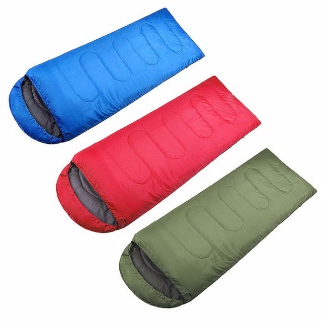 Ship From US Comfortable Large Single Sleeping Bag Warm Soft Adult Waterproof Camping Hiking