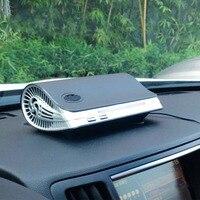 Classic Black Car Air Purifier Minus Ion Air Purification Apparatus Portable Car Air Cleaner Ionic UV HEPA Ionizer Fresh Ozone