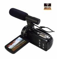 MAVIE HDV 502 FHD 1080p 24.0 MP 3.0 Screen 16X Digital Zoom Digital Camera Photo Video Recorder Camcorder with wifi