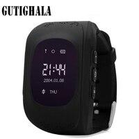 Gutighala Q50 ребенок Детская безопасность gps часы наручные SOS вызова Расположение Finder трекер анти потерянный мониторы PK Q90 Q730 Q80