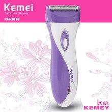 цены Rechargeable Lady Epilator Skin-friendly women Electric Shaver Hair Remover Female Shaving Scraping Epilators EU Plug