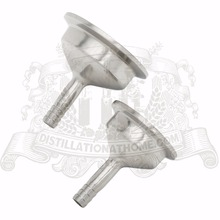 """Tri-clamp reducer 1.5""""(38mm) OD50.5  x 10mm """"herringbone"""""""