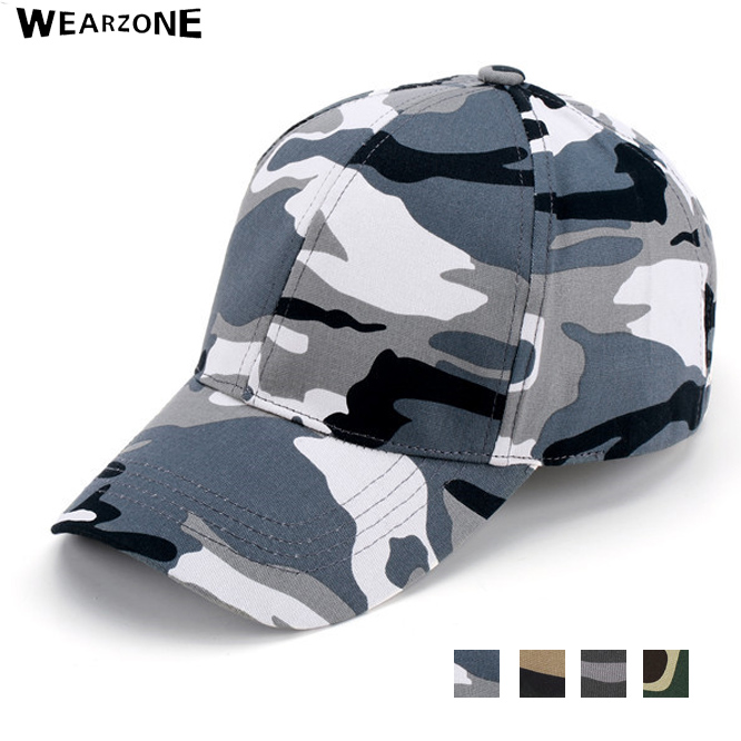 2017 Wearzone Mens Army Camo Cap Baseball Casquette Camouflage Hats For Men Hunting Camouflage Cap Women Blank Desert Camo Hat цена и фото