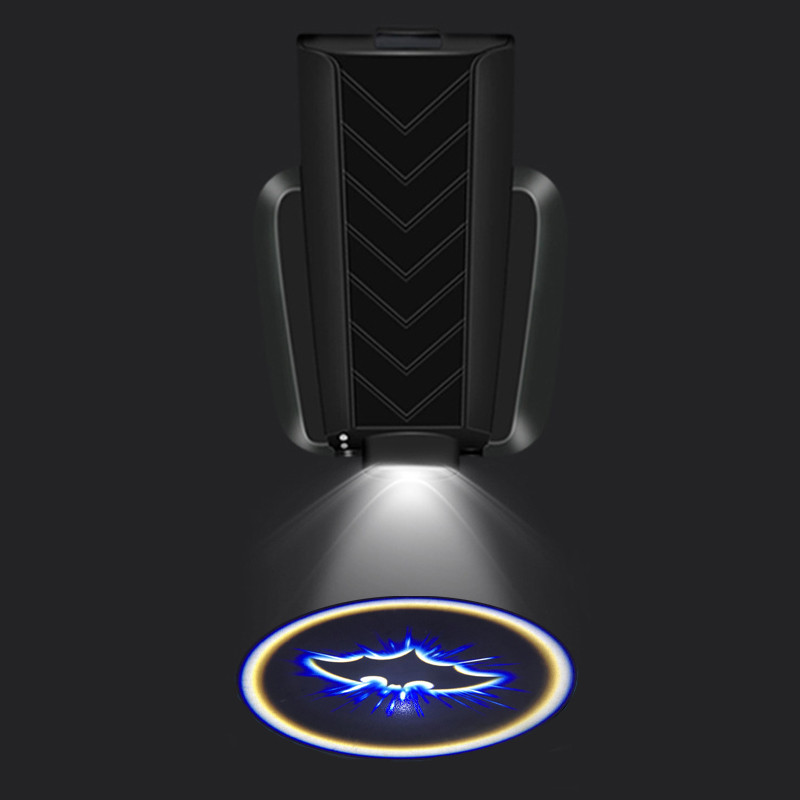 rechargeable LED car door welcome logo light