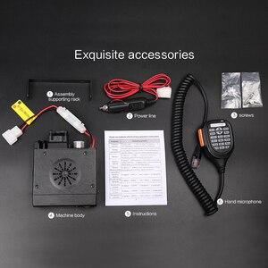 Image 5 - Mini talkie walkie de voiture Zastone Z218 10KM 25W double bande VHF/UHF 136 174mhz 400 470mhz 128CH Mini émetteur récepteur de Station Radio CB