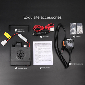 Image 5 - Zastone z218 mini carro walkie talkie 10 km 25 w banda dupla vhf/uhf 136 174mhz 400 470mhz 128ch mini transmissor da estação de rádio cb