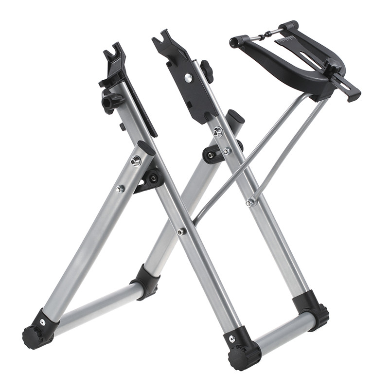 UpperX Mechanic Bicycle Wheel Truing Stand Wheel Maintenance Home Truing Stand Holder Support Bike Repair Tool Cycling Parts agekusl bicycle wheel truing stand bicycle wheel maintenance mtb road bike wheel repair tools store home mechanic truing stand