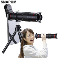 SNAPUM Cellphone mobile phone HD 4K 22x Camera Zoom optical Telescope telephoto Lens For Samsung iphone huawei xiaomi