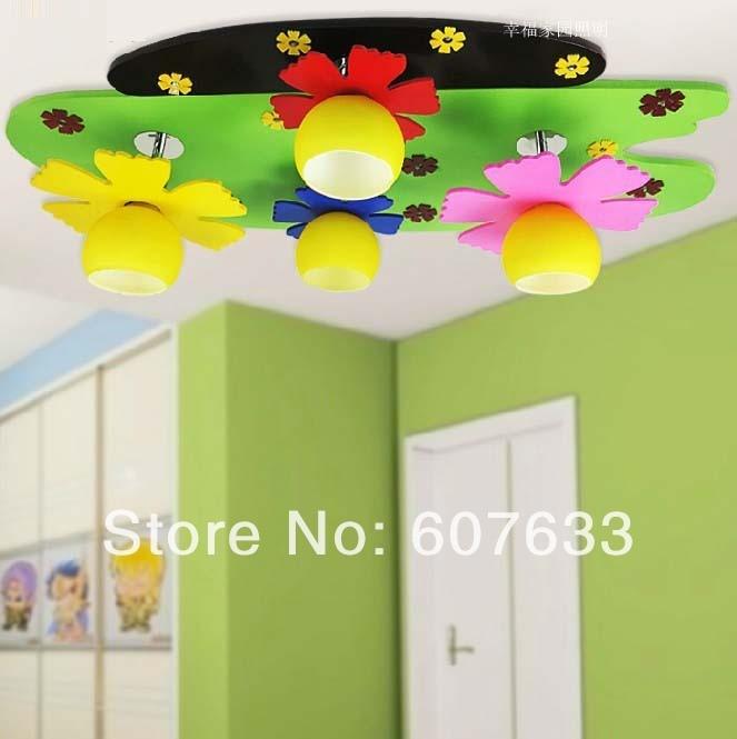 Fashion led ceiling lights child light children 39 s room for Lighting for kids room