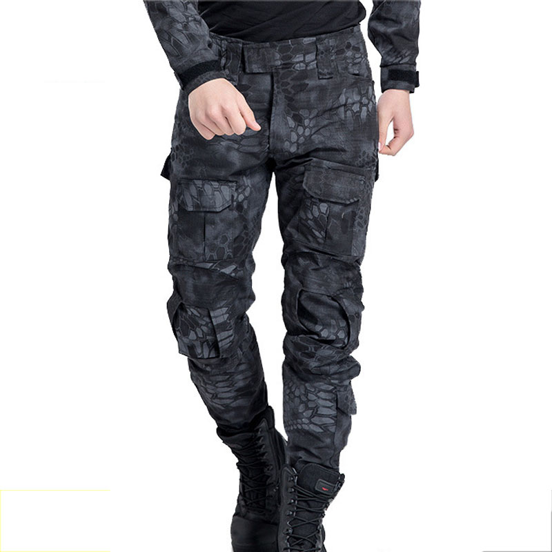 Frog suit ACU CP Outdoor Clothing Camouflage Tactical Breathable Hiking Pants Airsoft outdoor Camping & Hiking Men Army Trouser