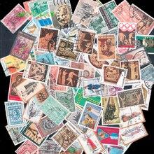 450 ชิ้นที่แตกต่างกันกรีซกรีกใช้แสตมป์ Off กระดาษสำหรับคอลเลกชัน