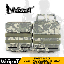 011732 FAST MAG Tactical Vest Accessory Box Pouch Outdoor Large Size Many Colors Box