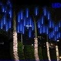 50 cm 30 cm 20 cm Meteoro Tubes Chuveiro de Chuva Led Luz à prova d' água lâmpada 240 V UE EUA Plug Natal Luz Jardim Do Casamento Decoração Xmas