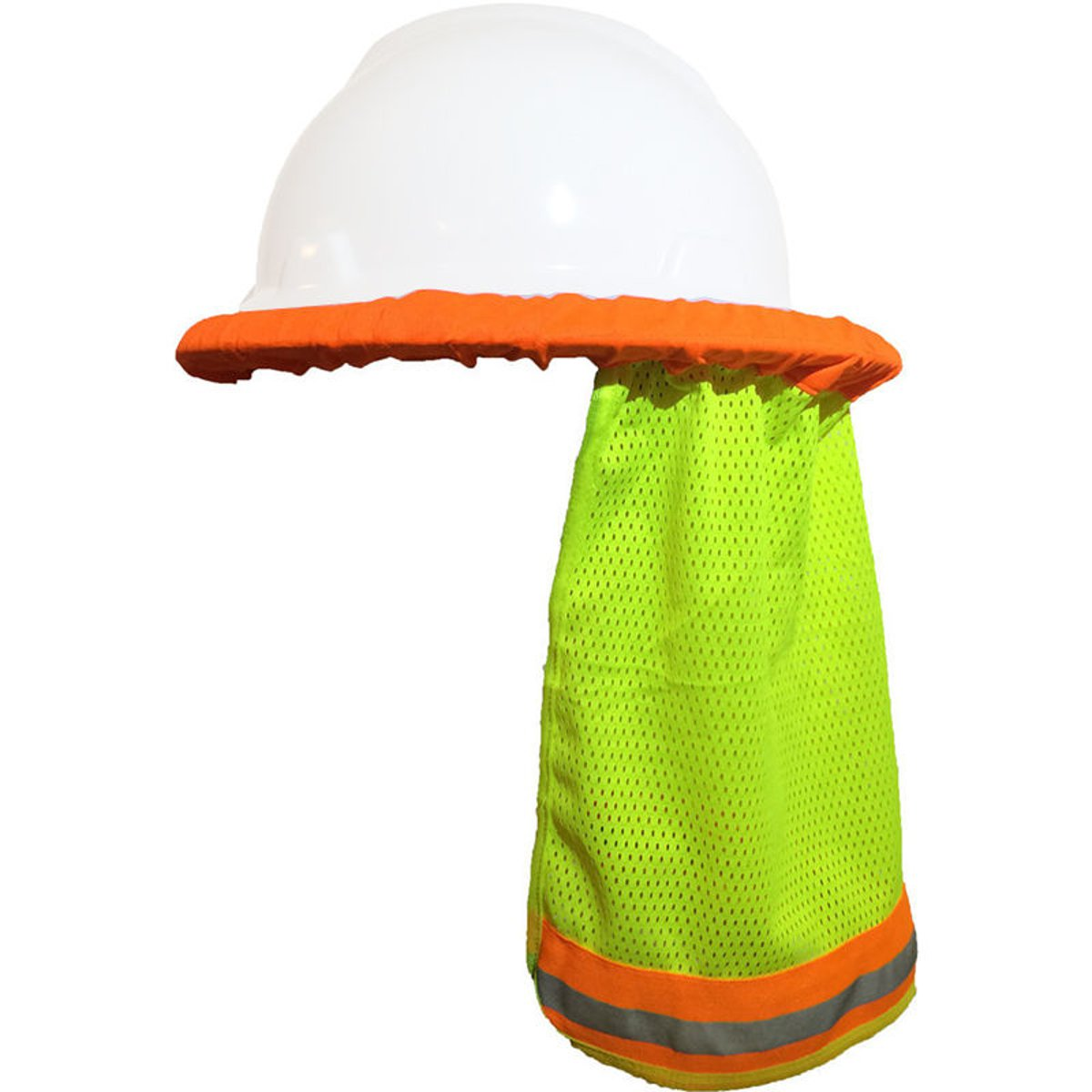 Safurance Reflective Stripe Neck Shield Safety Hard Hat Cap Sun Shade Protective Helmets Workplace Safety
