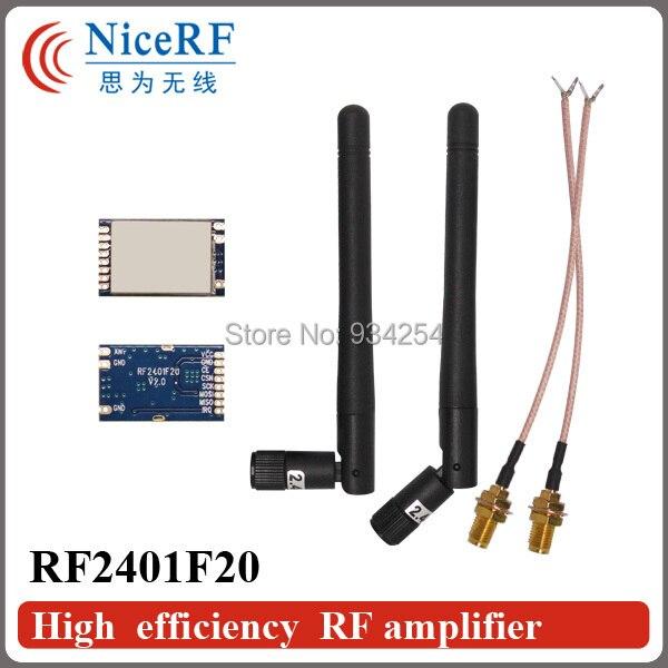 2 шт. RF2401F20 2.4 Г высокий интегрированный модуль РФ с Северных ВЧ чип nRF24L01 + Для Бесплатной Доставкой
