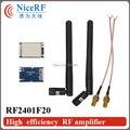 2 unids RF2401F20 2.4G alta integrado módulo de RF de chip de RADIOFRECUENCIA de Nordic nRF24L01 + Para El Envío Libre