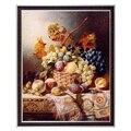 Рукоделие Ремесла 14CT неспечатная вышивка DMC Счетный крест наборы Still фрукты домашний декор