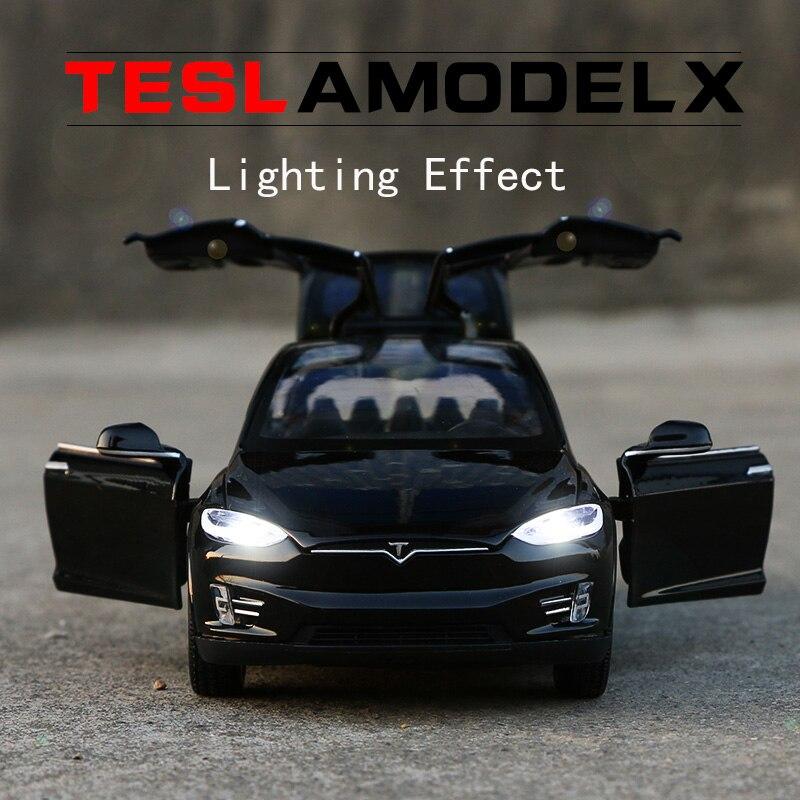 Νέο 1:32 J & CLIFE Tesla Μοντέλο Μοντέλο - Οχήματα παιχνιδιών - Φωτογραφία 6