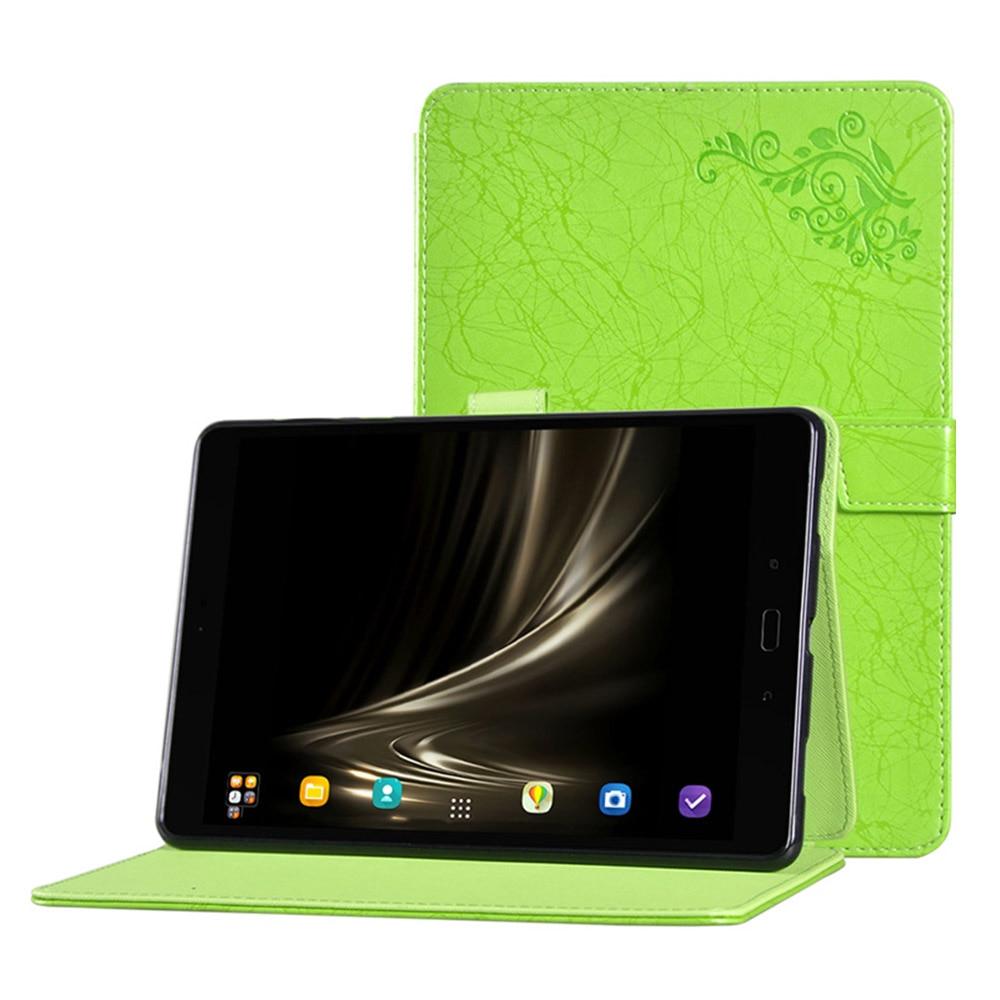 купить Print Pattern Smart PU Leather Flip Capas for ASUS ZenPad 3S 10 Z500KL 9.7inch Case for Tablet ASUS ZenPad 10 Fundas+Free Stylus по цене 1111.68 рублей