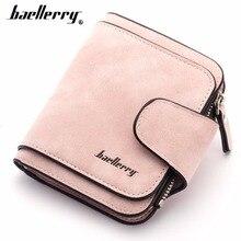 Купить с кэшбэком 2018 Fashion Women Wallets PU Leather Card Holder Short Desigh High Quality Female Purse Coin Holder Women Wallets