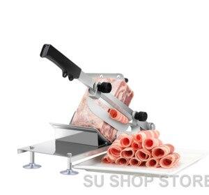 Image 2 - التلقائي تغذية اللحوم لحم الضأن تقطيع المنزل آلة اللحوم التجارية الدهون الماشية لحم الضأن لفة مفرمة اللحم المجمد التخطيط