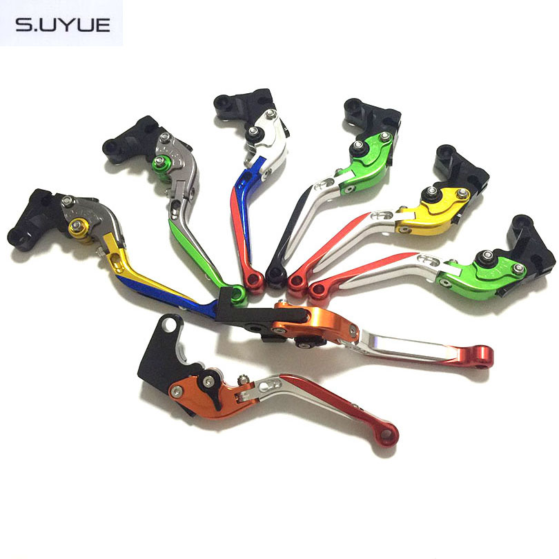 ФОТО S.UYUE For YAMAHA TDM 900 2012 2013 2014   Motorcycle Accessories Folding Extendable Brake Clutch Levers Free Shipping