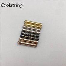 Coolstring 4 шт./1 комплект блестящие бесшовные толстовки шнурки металлические Aglets лазерные японские буквы Одежда DIY шнурки советы
