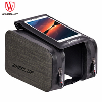 WHeeL UP Waterproof Touch Screen Bike Bag Portable Front Frame Top Cell Phone TPU Cycling MTB