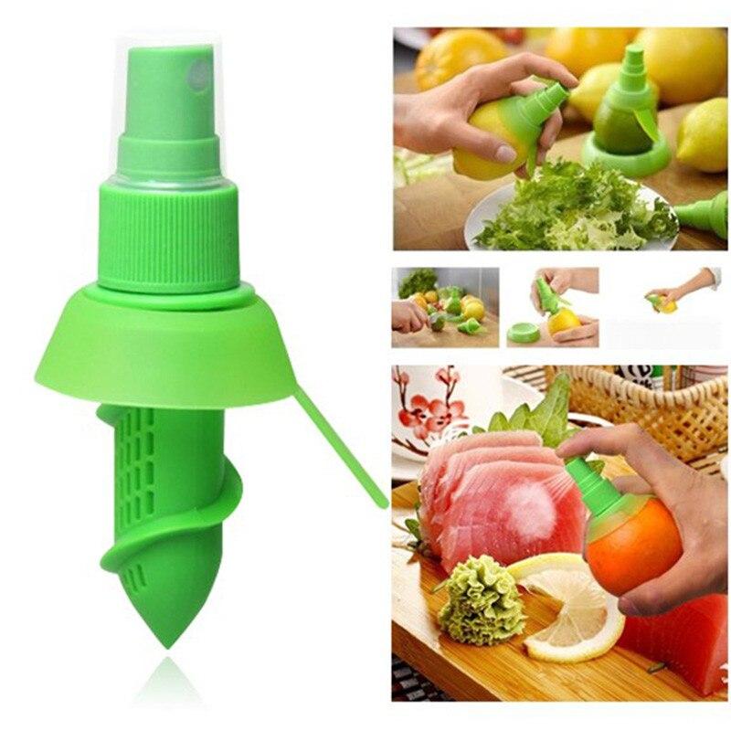 Creative Orange Juice Juicer Lemon Spray Mist Orange Fruit Gadge Sprayer Kitchen Cooking Tool