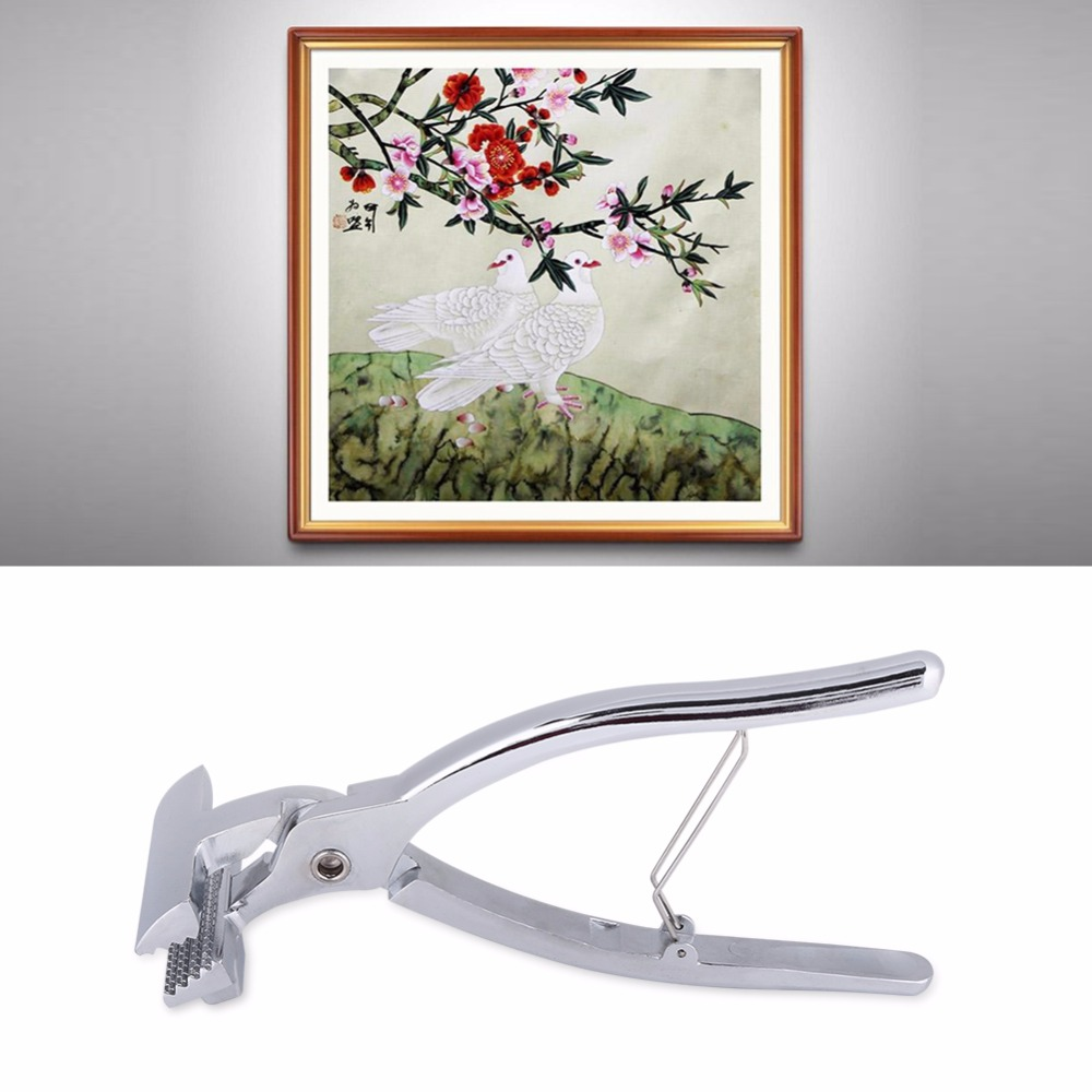 Professional Canvas Pliers Alloy Clamp For Stretching Oil Painting Canvas Framing Tool