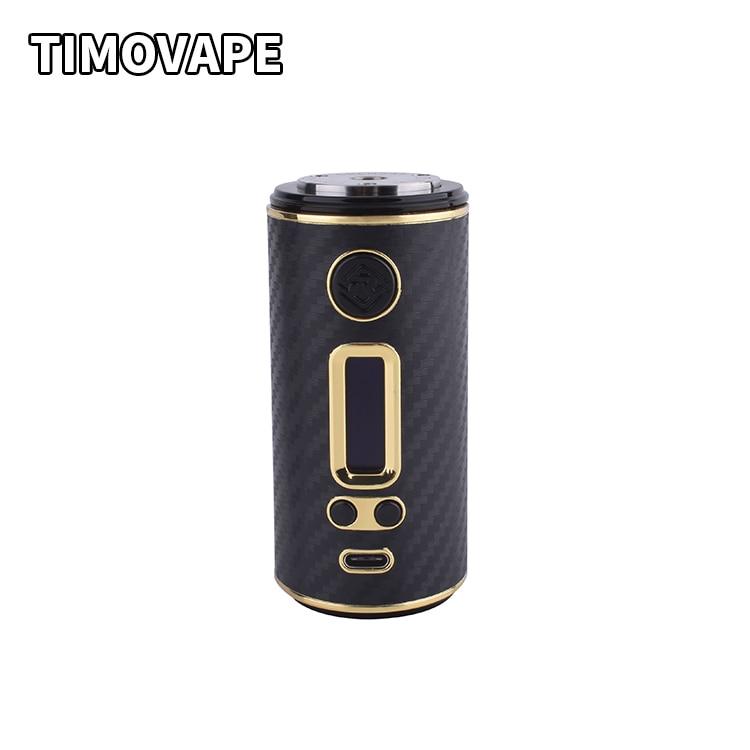 Authentique ShenRay GEO 75 w TC VW Variable Box Puissance Mod Pour 18650 26650 Batterie Avec TYPE-C Micro-USB rapide Chargeur