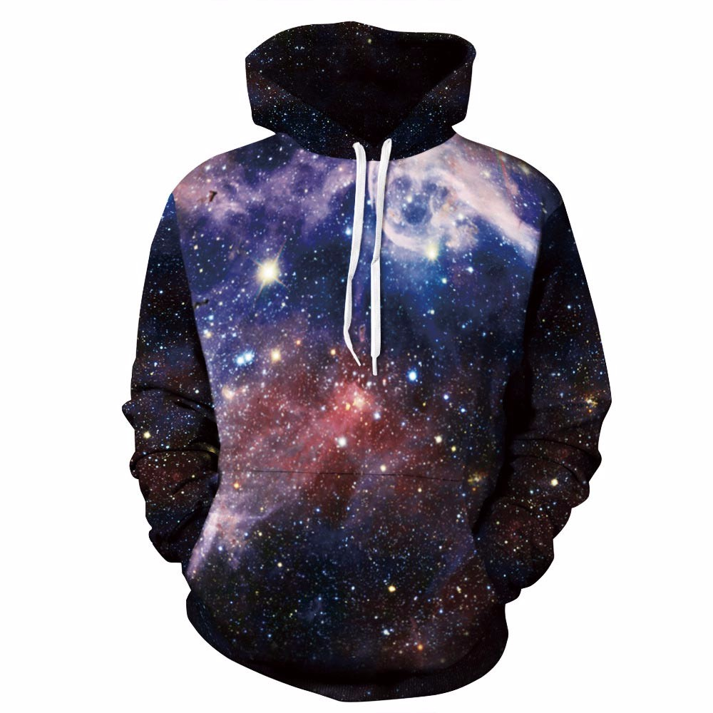 Space Galaxy 3d Sweatshirts Men/Women Hoodies With Hat Print Stars Nebula Space Galaxy Sweatshirts Men/Women HTB1PUG5OFXXXXcaXpXXq6xXFXXXs