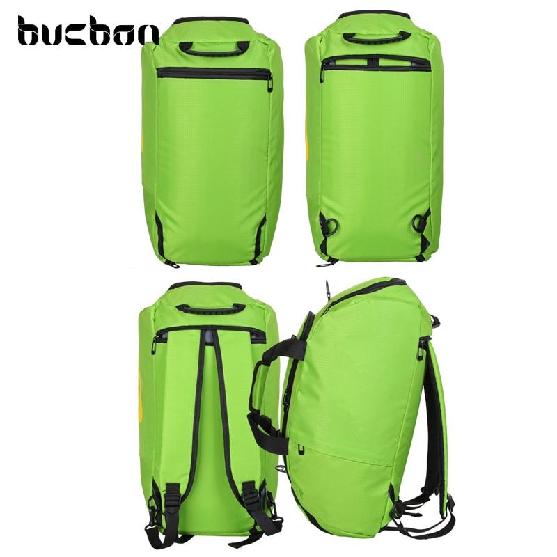 Bucbon Üç istifadəli İdman Çantası Portativ Çiyin Çanta - İdman çantaları - Fotoqrafiya 3