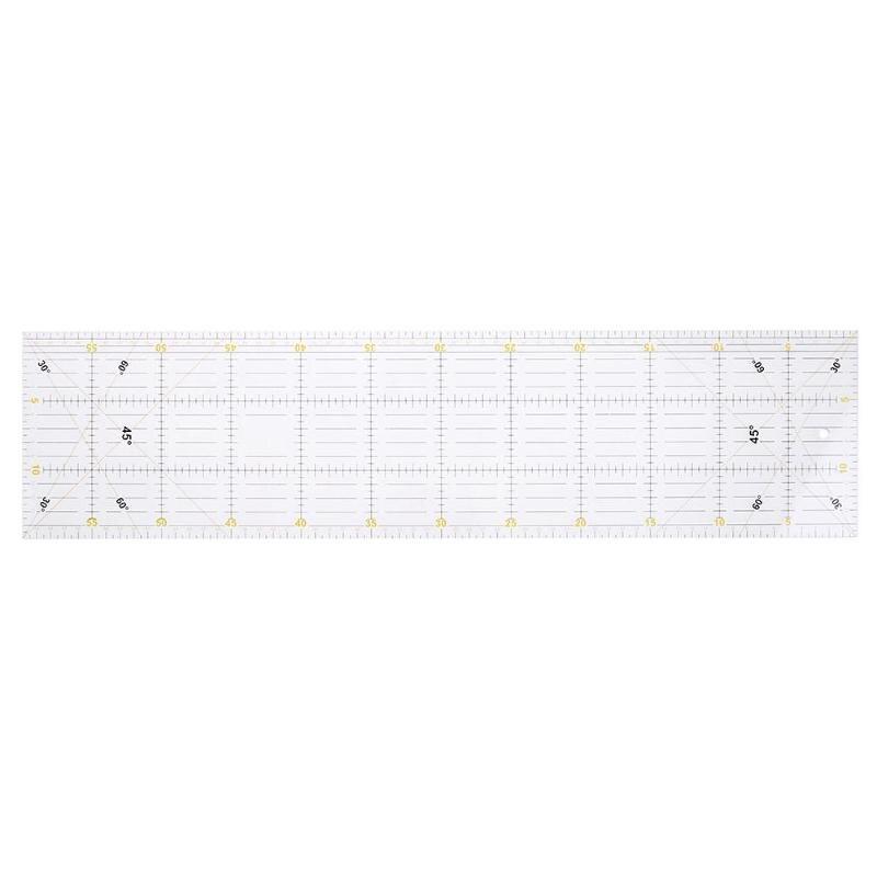 15*60 cm Patchwork Lineal DIY Transparent Acryl Tuch Herrscher Handgemachte Quilten Herrscher Naht Nähen Patchwork Zeichnung Herrscher 2018