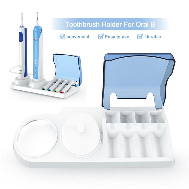 Electric Toothbrush Holder Oral Head Storage Portable Useful Travel Home Accessories Case Box CW34