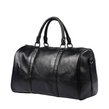 2017 Fashion Leather Men Travel Bag Versatile Women leather duffle bag Large Capacity Shoulder luggage Bags Business Handbag чехол для сотового телефона skinbox 4people 4630042527287 черный