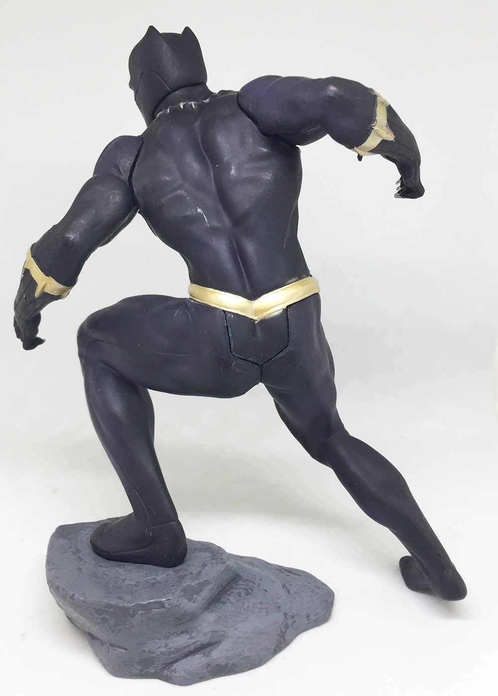 18 cm Maravilha ARTFX Brinquedos Avengers Infinito Guerra Pantera Negra PVC Action Figure Modelo Toy Presente de Natal