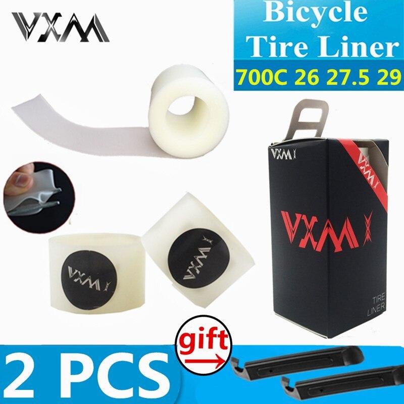 VXM 2pcs Bicycle Tire Liner Puncture Proof For 20 24 700C 26 27 5 29er Road