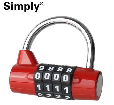 2016 Mini TSA Security 5 Digit Dial Combination Travel Suitcase Luggage Bag Password Code Lock Padlock 5 Letter Combination Lock